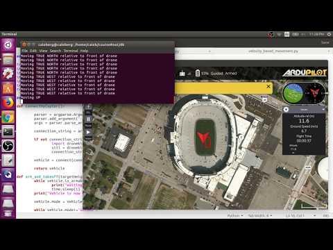 DroneKit Python SITL Simulation and GCS Viewer (qGroundControl on