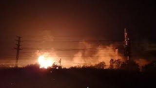 Live: Blast rocks chemical plant in east China 中国江苏盐城化工厂爆炸
