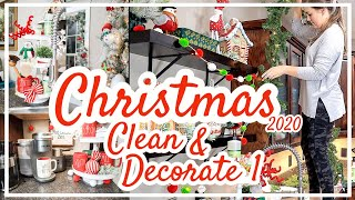 CLEAN AND DECORATE WITH ME FOR CHRISTMAS 2020 | Pt 1 Kitchen