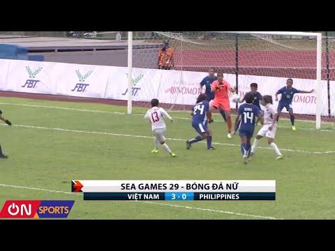 Đội tuyển bóng đá nữ Việt Nam giành chiến thắng trước đội tuyển bóng đá nữ Philippines