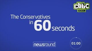 2015 - The Conservative Party in 60 seconds...