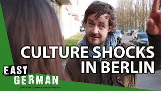 Culture Shocks in Berlin (with Emanuel from Your Daily German) | Easy German 241