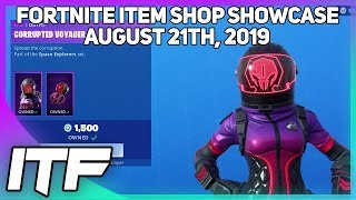 Fortnite Item Shop *NEW* A LOT OF STUFF! [August 21, 2019] (Fortnite Battle Royale)