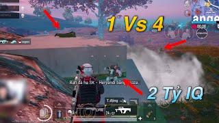 PUBG Mobile | Bị Địch Dồn Vào Hầm Shooting Range Bo Cuối - Bật HACK Một Mình Cân 4 😆