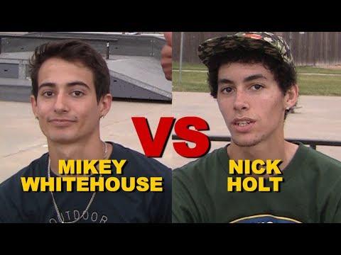 Nick Holt VS Mikey Whitehouse - SKATE Saturdays