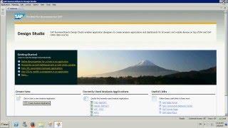 SAP Design Studio Tutorial, SAP Reporting Tool