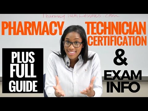 Pharmacy Technician Certification Exam Review (All About the ...