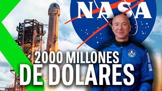 Jeff Bezos ofrece 2.000 MILLONES $ de su bolsillo para que Blue Origin vaya a la Luna