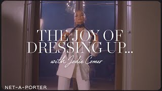 The Joy of Dressing Up With Jodie Comer | NET-A-PORTER