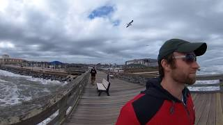 Walk with the incredible waterfowl at St. Augustine Pier in 360 VR w/ spatial audio
