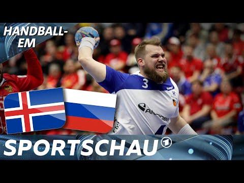 Island-Power: Imponierender Sieg gegen Russland | Handball-EM | Sportschau