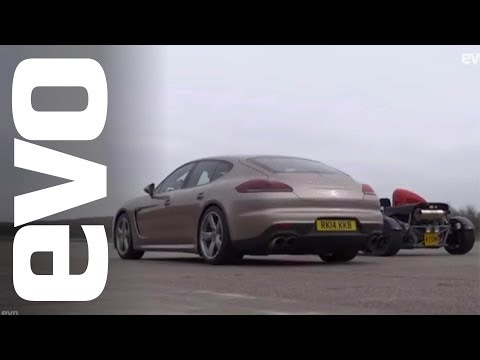 Ariel Atom Supercharged vs Porsche Panamera Turbo S