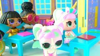 Куклы Лол Мультик! Урок - Знакомство с Питомцами в Школе Лол! lol Surprise Pets Видео для детей