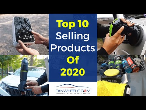 Top 10 Selling Products Of 2020 on PakWheels Auto Store