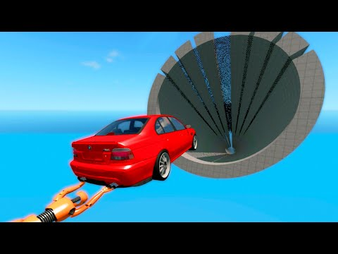 Beamng.DRIVE - Cars Wipeout #5 CrashTherapy