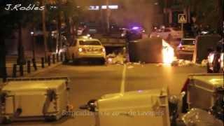 preview picture of video '14N Huelga General. Disturbios en Madrid'