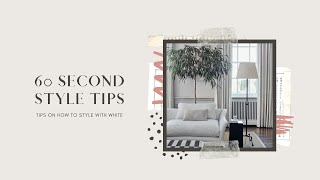 Styling with White