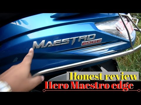 New Hero Maestro Edge 2018 Full Review | Bs4 Technology | Walkaround | | HINDI |BY- Being Technozz||