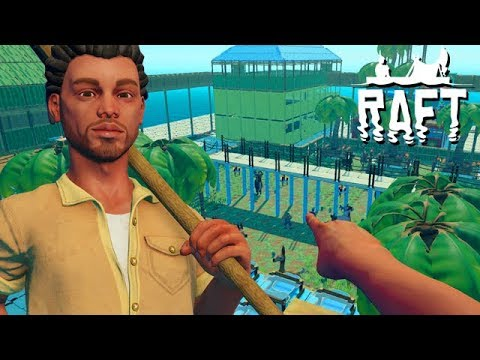 Raft COOP Gameplay German #36 - Der Wald im Würfel
