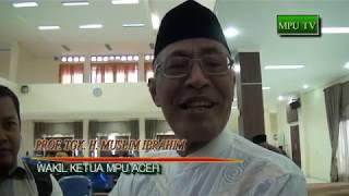 Tanggapan MPU Aceh Terhadap Fatwa MUI Tentang BPJS