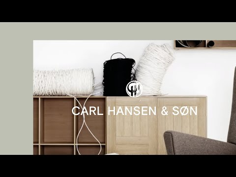 CH445 Wing Chair by Carl Hansen