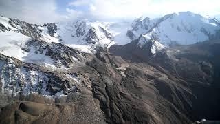 Ка 32A 11 BC полет над ледниками