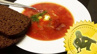 How to make borsch soup like a slav (Borscht recipe) - Cooking with Boris