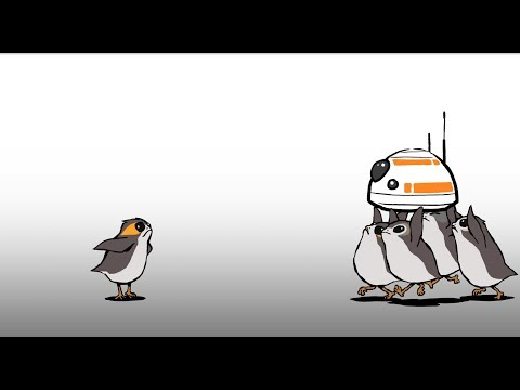 Star Wars: The Last Jedi's Porgs Make Their Adorable Animated Debut