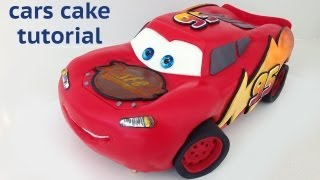 Cars Cake Tutorial HOW TO COOK THAT Disney Lightning McQueen Ann Reardon