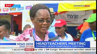 Primary heads hold a conference in Mombasa