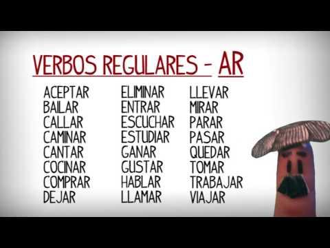 Liste Des Verbes Reguliers Et Irreguliers En Espagnol Apprendre Espagnol Mp3 Free Download