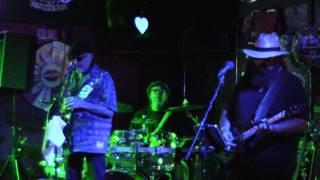 Francine (ZZTop) MVI 2050--20160513_2105 Cheap Sunglasses Band at Hooper's Bar