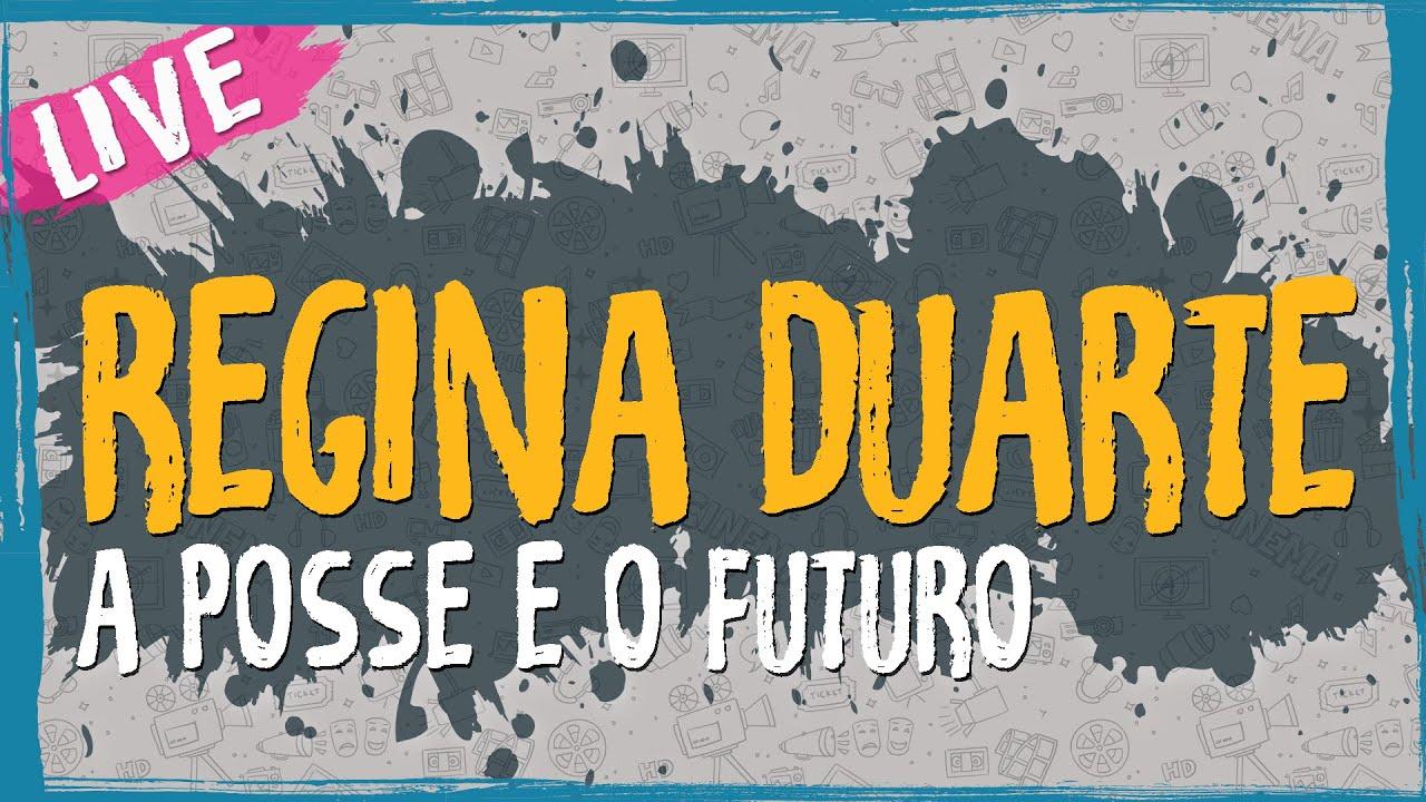 Regina Duarte, A Posse e o Futuro – Live