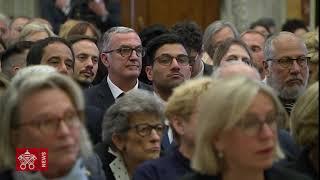 Papa Francesco Associazione Stampa Estera in italia 2019-05-18
