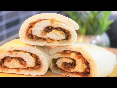 Traditional Beijing Steam Bun Roll Old Beijing Lazy Dragon Recipe [老北京懒龙]