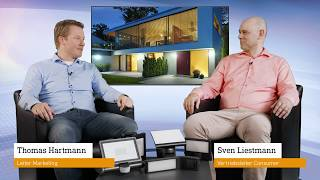 Vorstellung STEINEL Strahler: LED-Strahler mit Bewegungsmelder für den Außenbereich