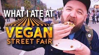 What I Ate at Vegan Street Fair Los Angeles 2019