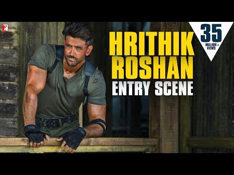 Hrithik Roshan - Entry Scene   War   Tiger Shroff