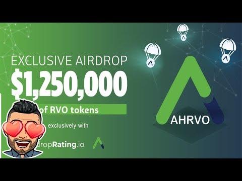 Ganhe U$25 Dólares 100% no Airdrop AhrvoDEEX ! MUITO RÁPIDO .