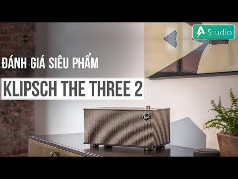 Đánh giá siêu phẩm nghe nhạc vàng Klipsch The Three II (2)
