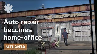 Function after form: from old auto repair to live/work space
