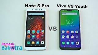 Vivo V9 Youth vs Redmi Note 5 Pro Speed Test and Camera Comparison