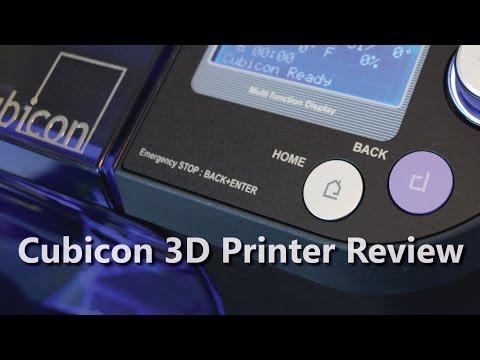 Đánh giá máy in 3D Cubicon Single