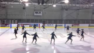 preview picture of video 'Les Chatelaines Pre Novice 2011-2012'