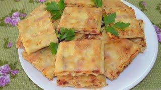 ОоЧень Вкусная Закуска Из Лаваша с Фаршем и Сыром.Рецепты Любимых Блюд.