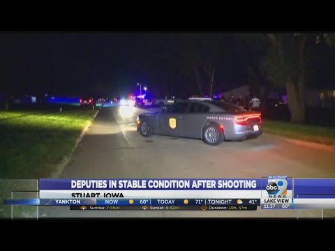 Deputies In Stable Condition After Shooting