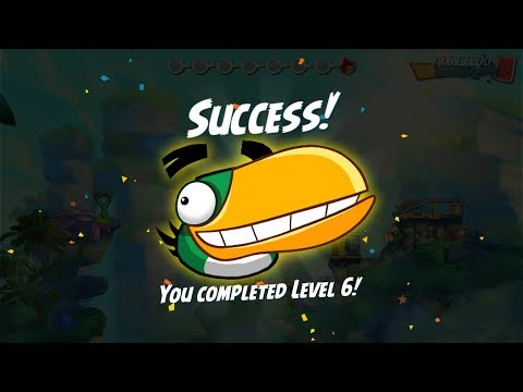 Angry Birds 2 The HAL Adventure! Completed Level 1–6 New Upgrade 2018 Mp3