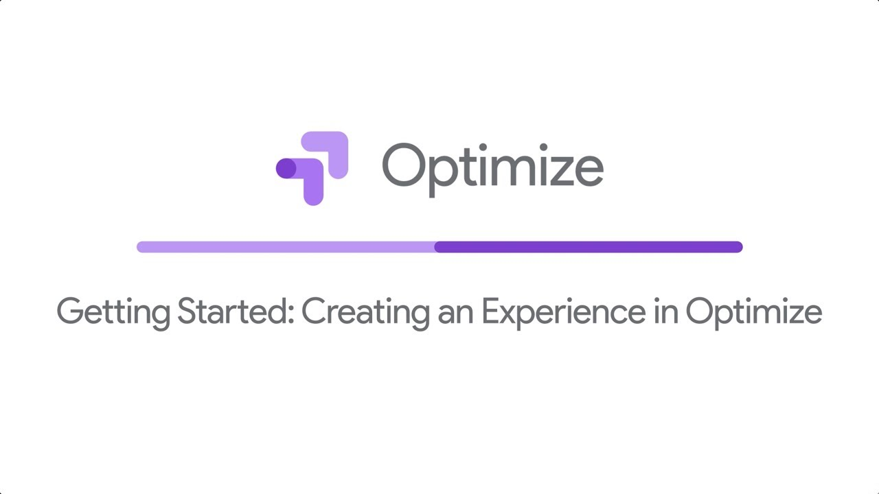 Create your first experiment: Use the Optimize editor to change your site without writing any code