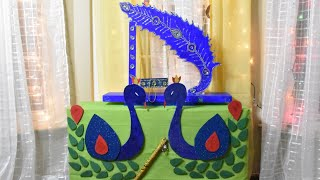 Easy janmashtami decoration idea - janmashtami decoration | krishna janmashtami decoration idea  IMAGES, GIF, ANIMATED GIF, WALLPAPER, STICKER FOR WHATSAPP & FACEBOOK