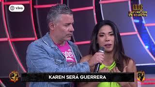 Karen Dejo será Guerrera y envió rotundo mensaje a Mario Irivarren